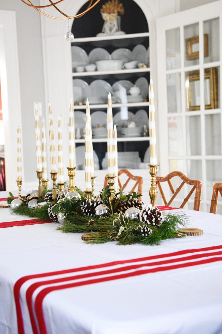 Tips for a Budget Christmas Tablescape