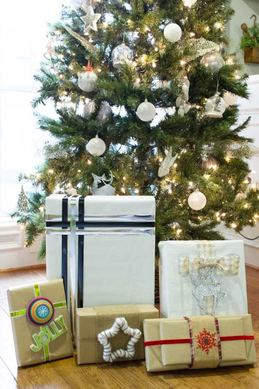 Quick and Simple Gift Wrapping Ideas