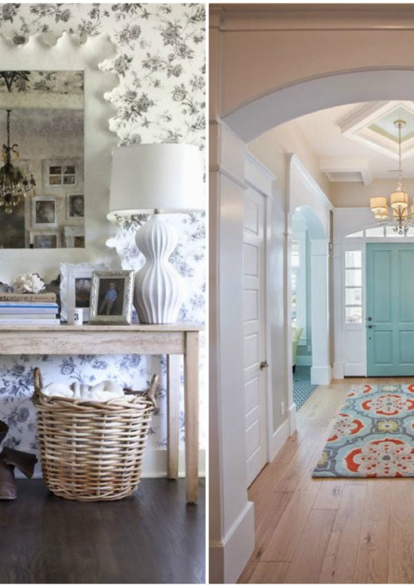 10 Gorgeous Entryway Ideas