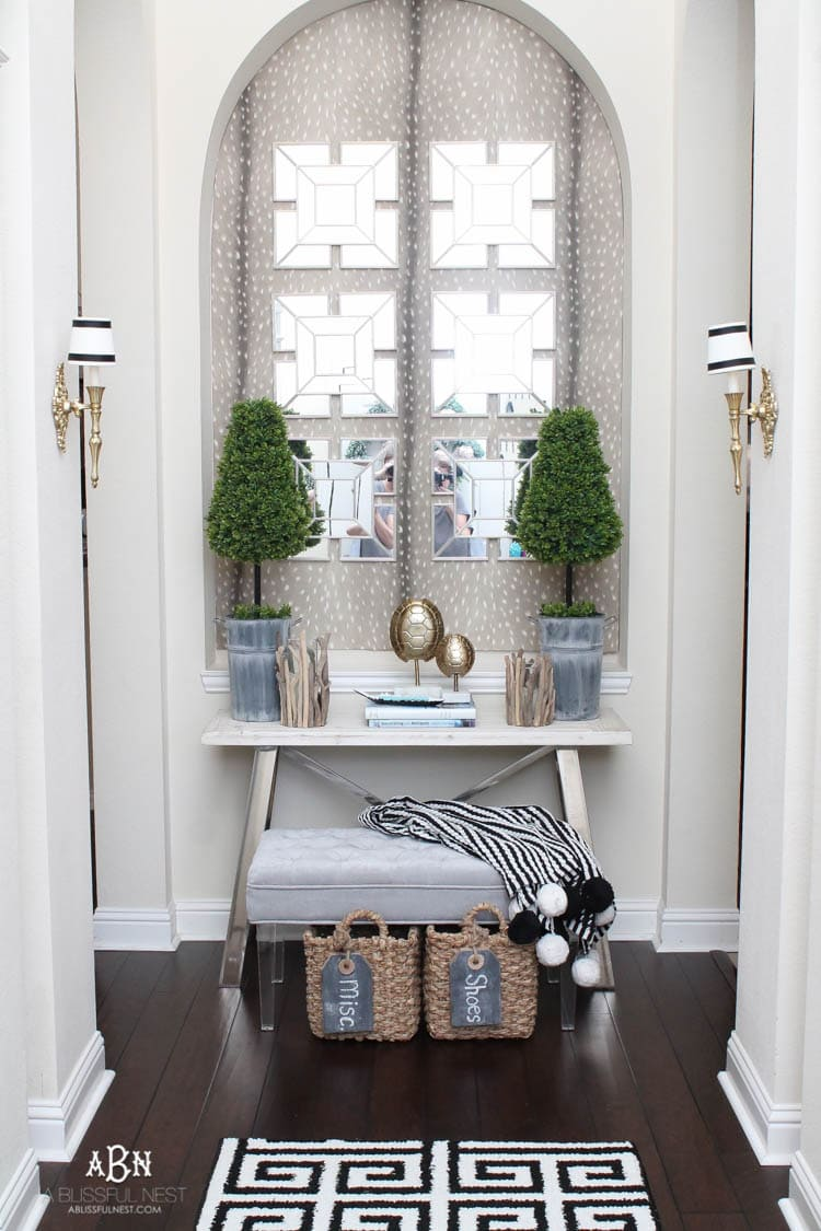 Get Organized in The Entry with These Entryway Ideas