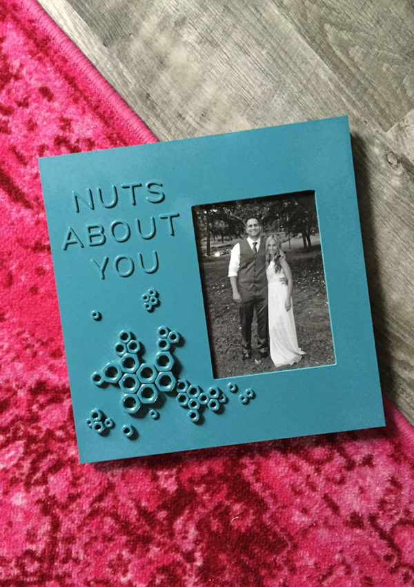 Nuts About You Framed Valentine Art Idea