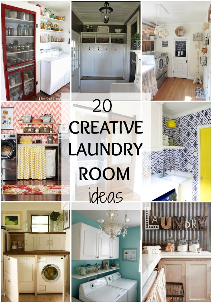 Creative laundry room ideas for your home 20 ways to get for Creative room decor