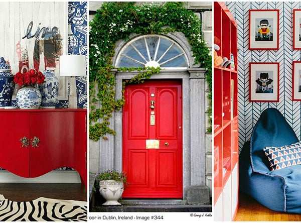 How To Decorate With Red + The Best Red Paint Colors