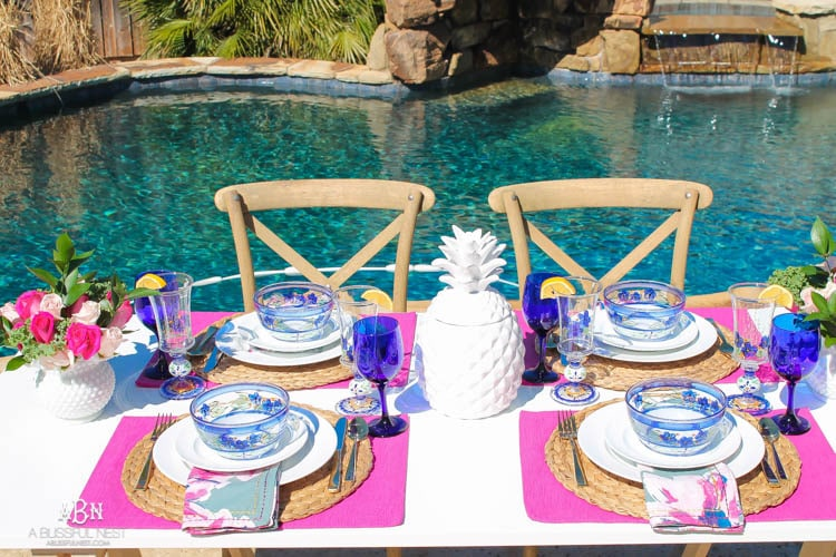Tips for the Perfect Spring Table Setting + Giveaway