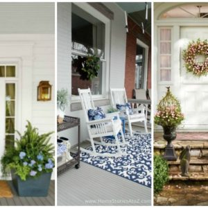 25 Spring Front Porches