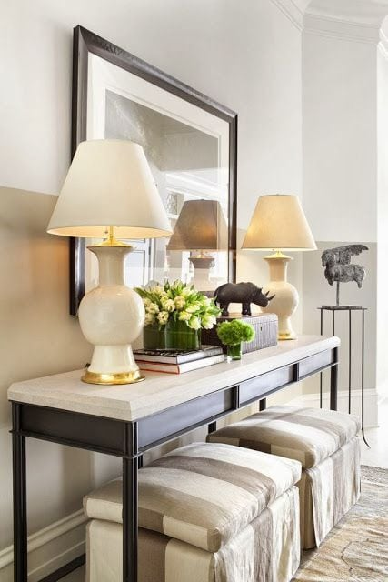 Style A Console Table Like A Pro With These 5 Designer Tips