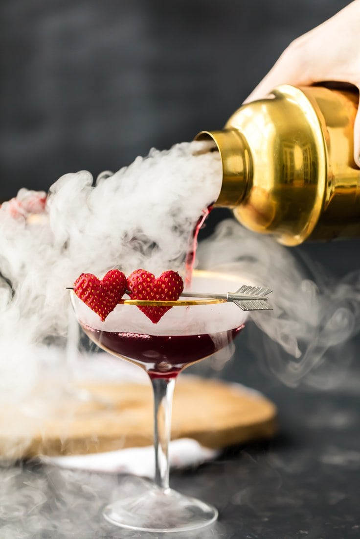 Valentine Cocktail Recipes: 20 Delicious Valentine's Day Cocktail Recipes With Lots Of