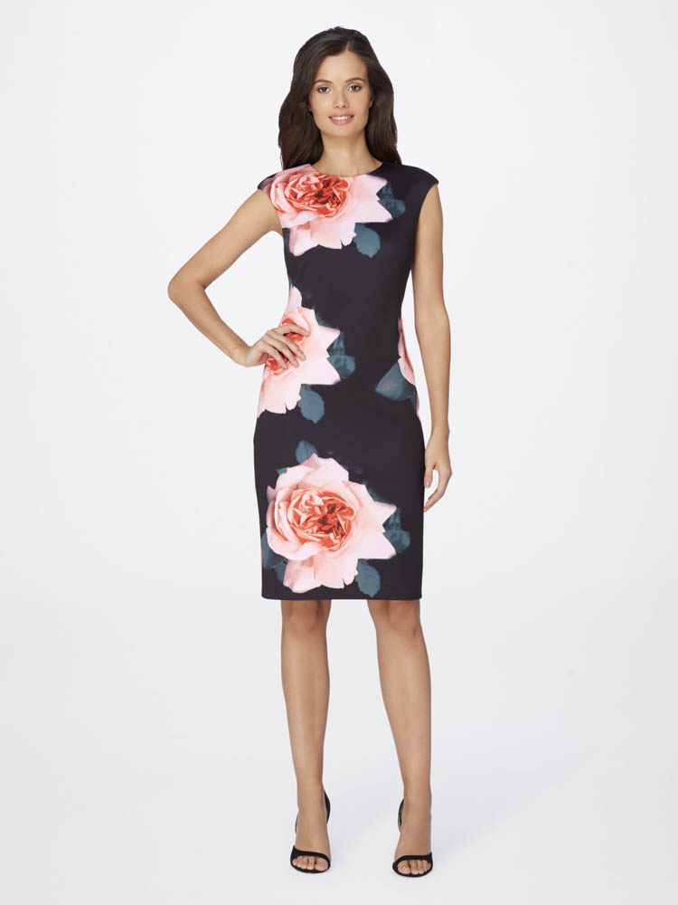 Love these spring trends featuring key pieces from Tahari! #ad #springfashion