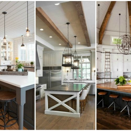 Modern Farmhouse Kitchen 20 farmhouse kitchens for fixer upper style + industrial flare