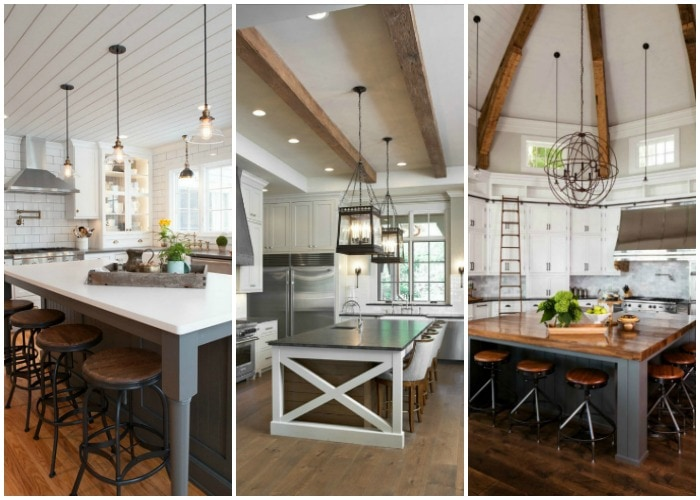 20 Modern Farmhouse Kitchen Ideas : modern farmhouse interior design - zebratimes.com