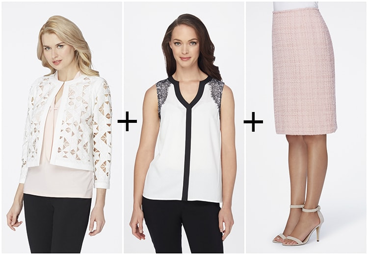 Spring Trends + Wish List with Tahari ASL