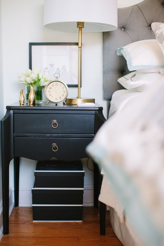 How To Style Your Nightstand What Every Nightstand Should