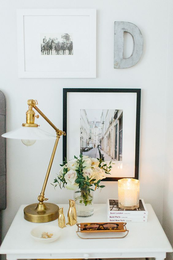 How to Style Your Nightstand -What every nightstand should have