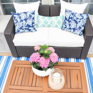 Our Summer Backyard Patio Refresh