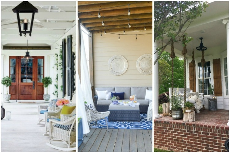 20 Beautiful Summer Front Porches