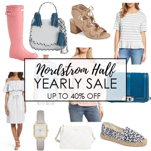 Nordstrom 1/2 Yearly Sale!