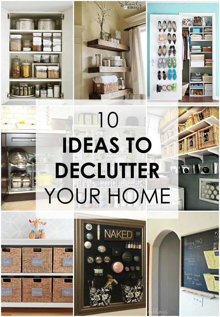 10 Ideas to Declutter Your Home - Easy Guide to Follow