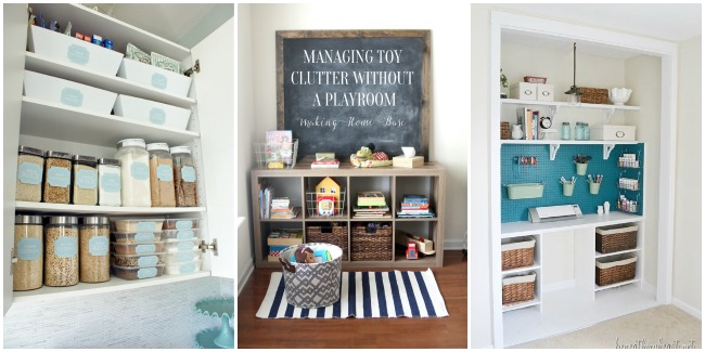 AMAZING home organization ideas to follow!