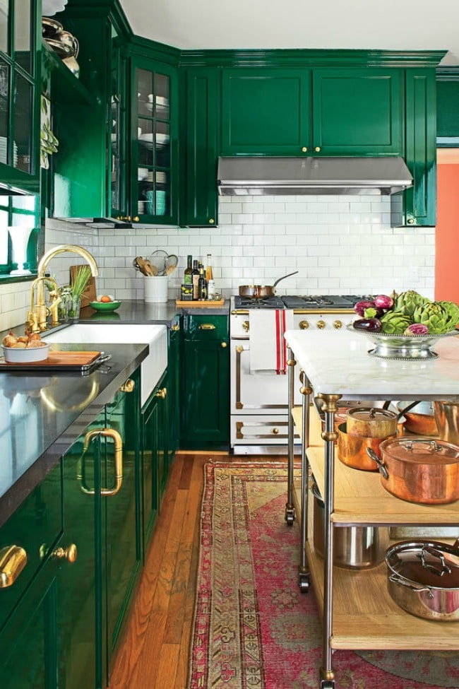 Fabulous These are the best kitchen cabinet colors to choose from Love all the variations to