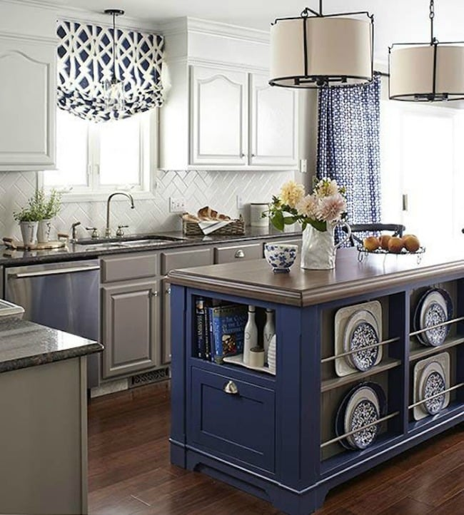 Perfect These are the best kitchen cabinet colors to choose from Love all the variations to