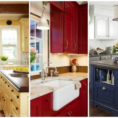 20 Beautiful Kitchen Cabinet Colors