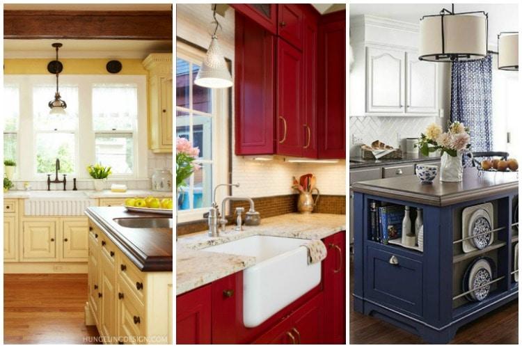 20 Popular Kitchen Cabinet Color Ideas