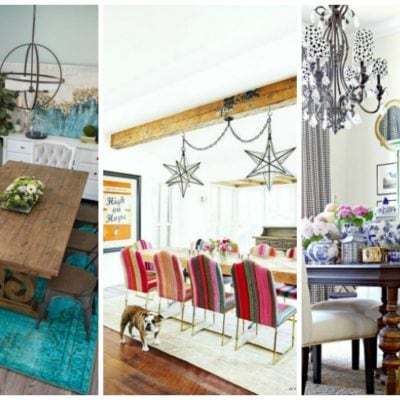 15 Stunning Dining Room Ideas with Color