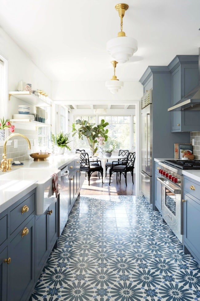 These Are The Most Gorgeous Blue Kitchen Ideas For Any Design Style