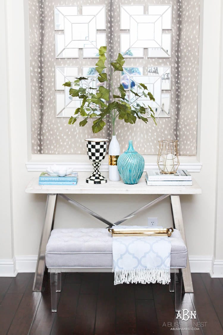 This gorgeous summer home tour is full of coastal accents and beautiful blue and white accents. Shop this tour with our custom shopping guide!