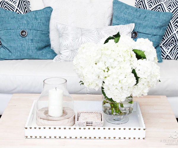 Our Summer Home Tour with Fresh Blue and Whites