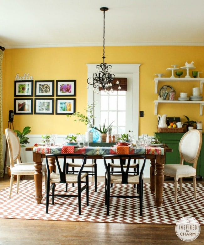 15 stunning dining room ideas with color - gorgeous dining room decor