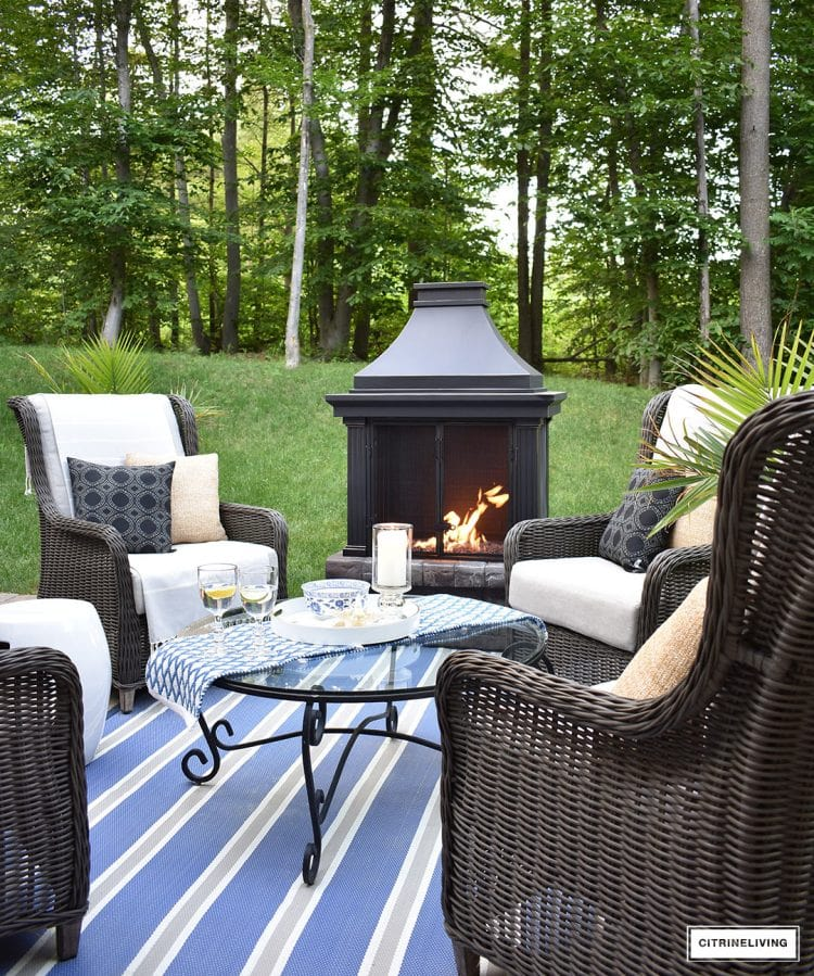 A must see outdoor living space!
