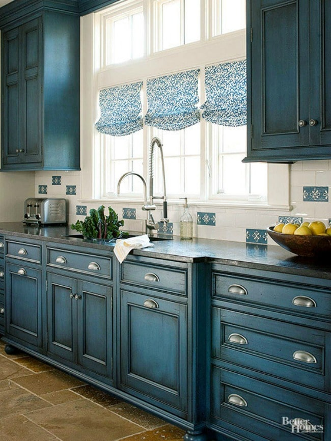 15 Gorgeous Blue Kitchen Ideas Blue Kitchen Cabinet Ideas