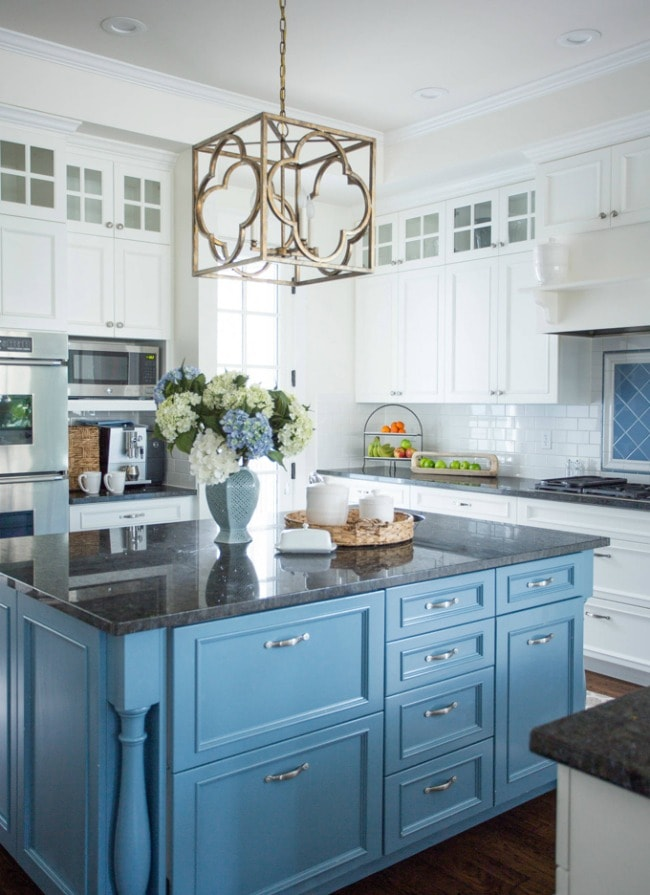 Vintage These are the most gorgeous blue kitchen ideas for any design style