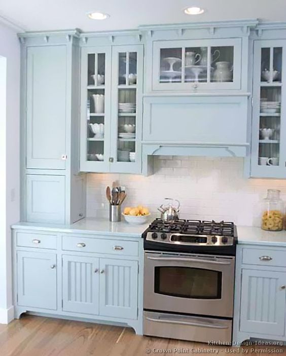 Kitchen Cabinets Colors: 20 Beautiful Kitchen Cabinet Colors