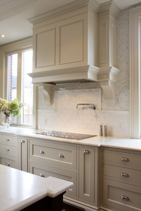 Beautiful Kitchen Cabinet Colors A Blissful Nest - Kitchen colors with light grey cabinets