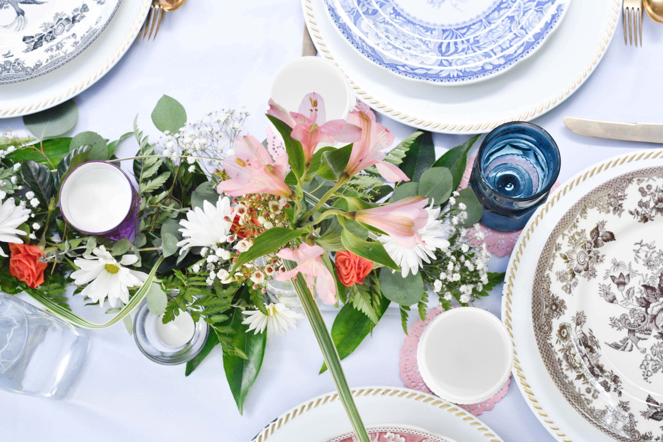 Easy tips to follow for a perfect summer table setting for evening or morning brunches this & Perfect Summer Table Setting - 5 Essential Tips for Summer Entertaining