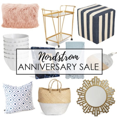 Nordstrom half yearly sale a blissful nest Nordstrom home decor sale