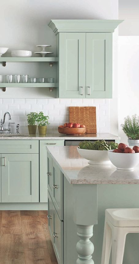 Great These are the best kitchen cabinet colors to choose from Love all the variations to