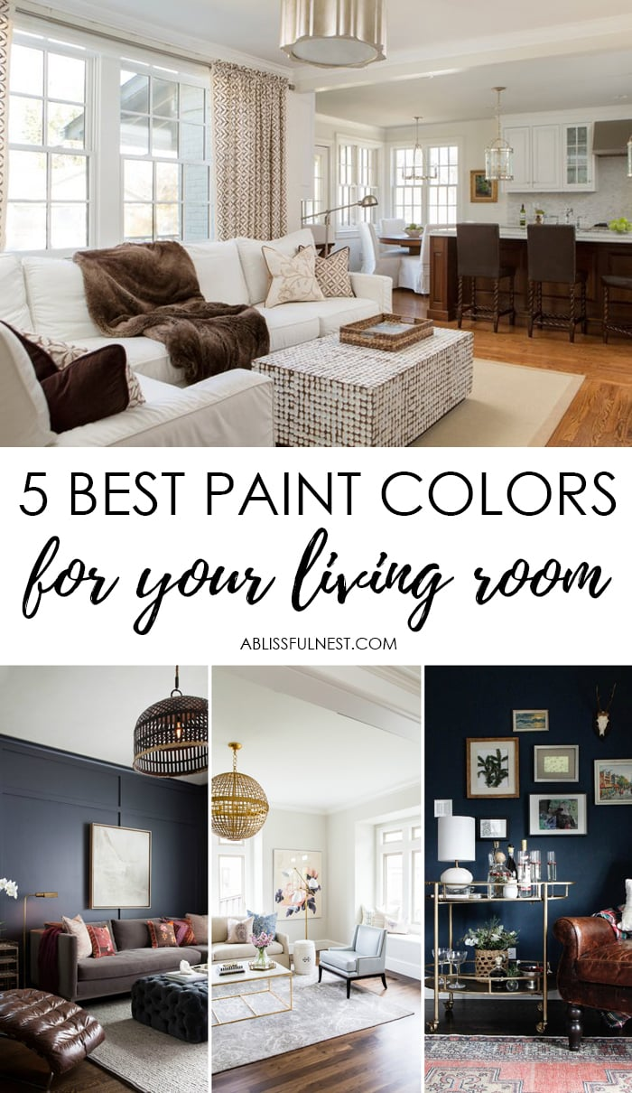 Paint colors for your living room 5 paint colors for for Top 5 living room paint colors
