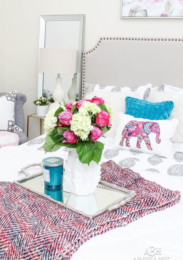 Guest Bedroom Refresh with Vera Bradley