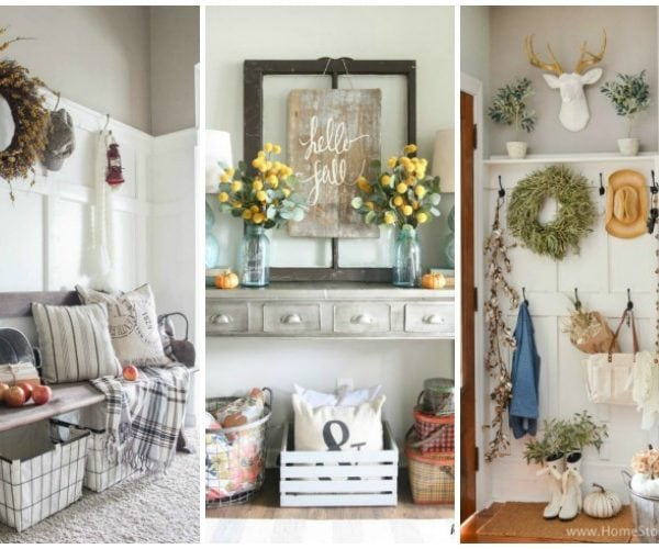 Beautiful and Inspiring Fall Entryway Ideas