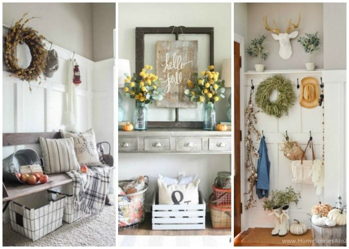 20 Best Fall Entryway Ideas