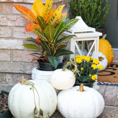 Our Classic Fall Front Porch