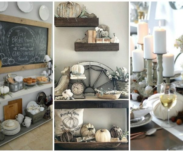 Gorgeous Neutral Fall Decor Ideas