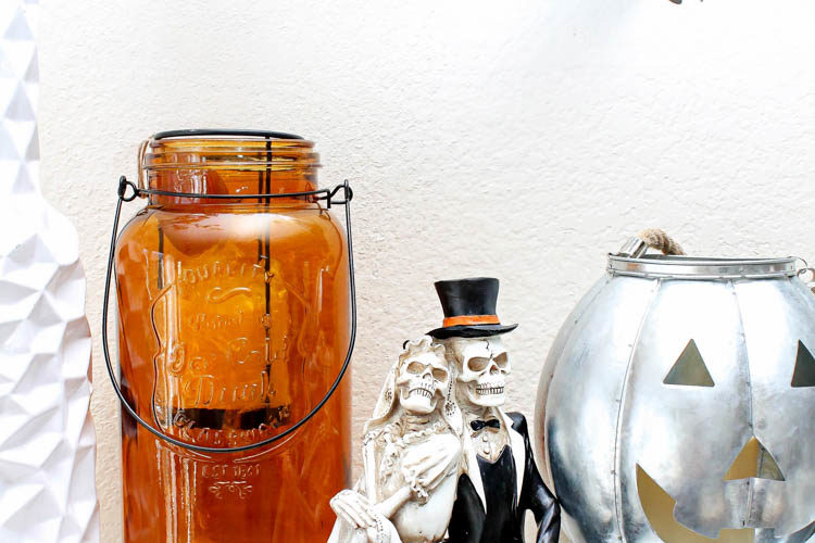 Halloween Mantle Ideas + Tips For A Spooky Display