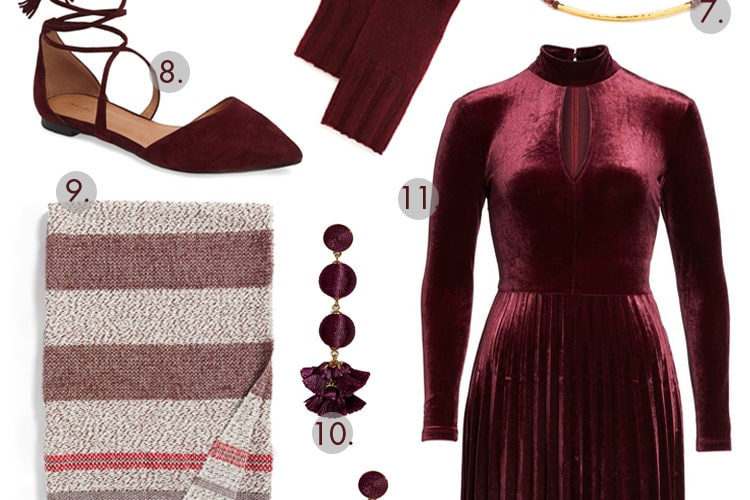 Color of the Season: Bold Bordeaux