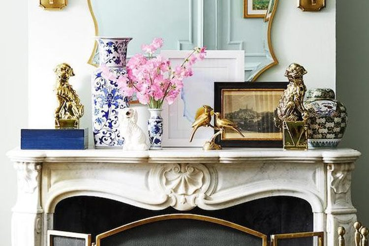How To Decorate and Accessorize A Mantel