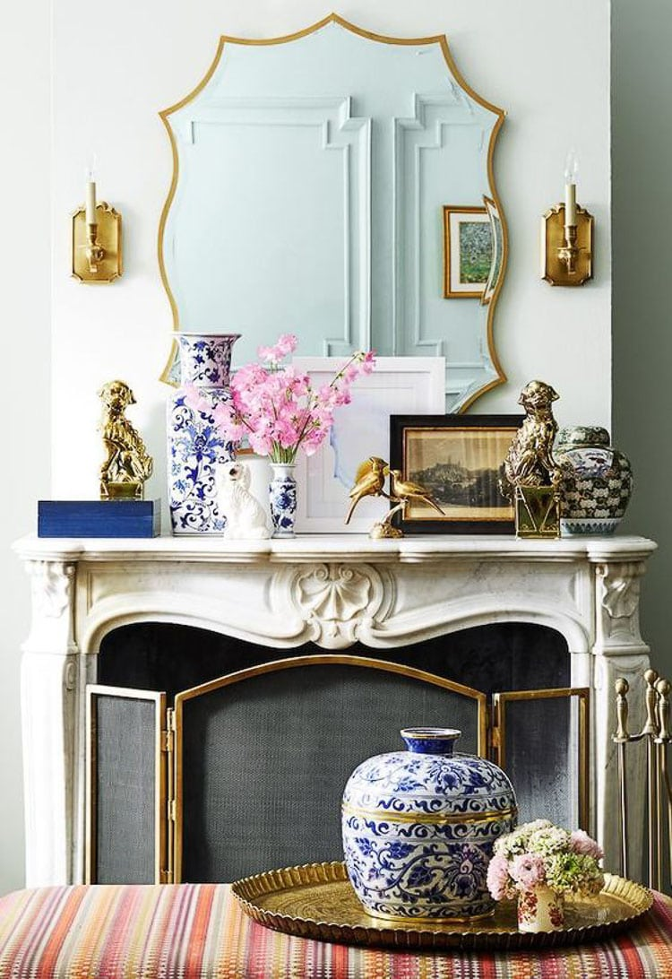 How To Decorate And Accessorize A Mantel A Blissful Nest