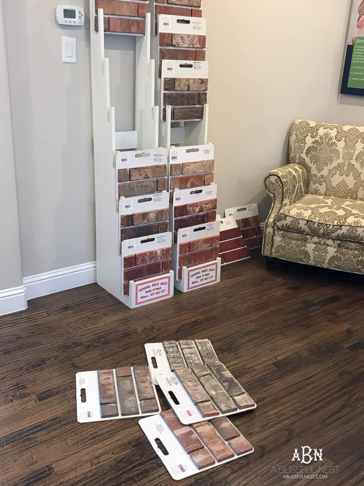 With so many options, how are you supposed to know how to choose brick for your home? The sample room is where to start!
